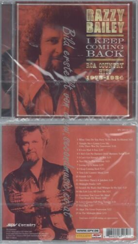 CD--RCA COUNTRY HITS  RAZZY BAILEY--I KEEP COMING BACK