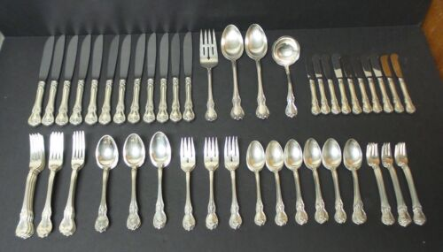 Towle OLD MASTER Sterling Silver Luncheon / Place 86-Piece Flatware Set