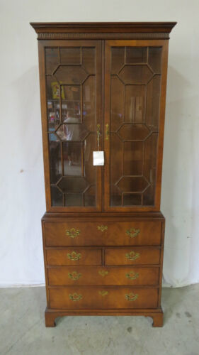 Henredon 18th Century Bookcase Secretary