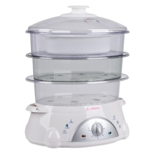 Arshia 8.5L Food Steamer AS850-6013 <br/> Paypal Accepted✔Same Business Day*Dispatch✔Powerseller✔