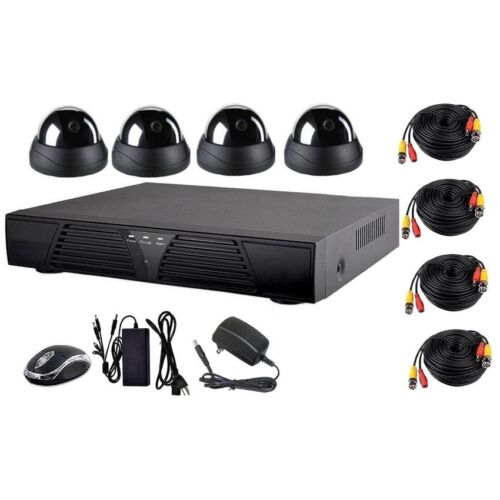 Dome CCTV Package with 4 Channel DVR Surveillance Security Camera System <br/> Paypal Accepted✔Same Business Day*Dispatch✔Powerseller✔