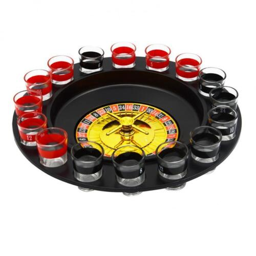 Keimav Spin the Wheel Russian Roulette Drinking Game with 16 Shot Glasses    <br/> Paypal Accepted✔Same Business Day*Dispatch✔Powerseller✔