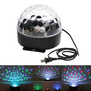 RGB Voice-Activated LED Crystal Magic Ball Effect DJ Stage Light <br/> Same Business Day* Dispatch✔ Powerseller✔