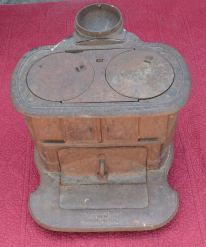 Vintage Franklin Brown Stove Works No. 80