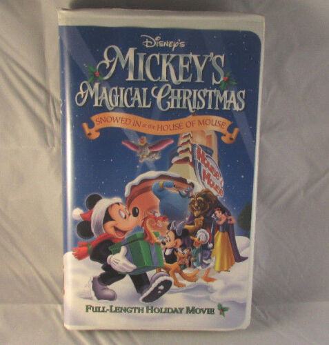 Mickey's Magical Christmas - Snowed In At The House Of Mouse - NTSC - Video VHS