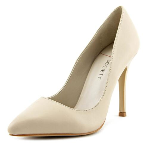 Sole Society Aiken   Pointed Toe Leather  Heels