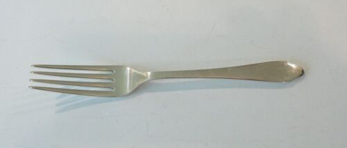 "TIFFANY & CO. ""CLINTON"" STERLING SILVER 7"" LUNCHEON / PLACE FORK, 55 grams"