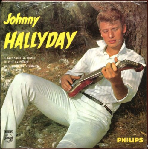 JOHNNY HALLYDAY - NOUS QUAND ON S'EMBRASSE - CD SINGLE REPLICA DU SUPER 45 T
