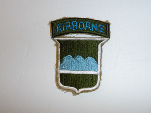 b1880 US Army 1950's 80th Division Airborne Parachute R8DReproductions - 156443