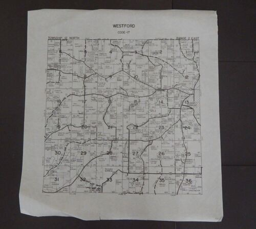 Wisconsin Richland County Map Westford  Township c.2010 Master