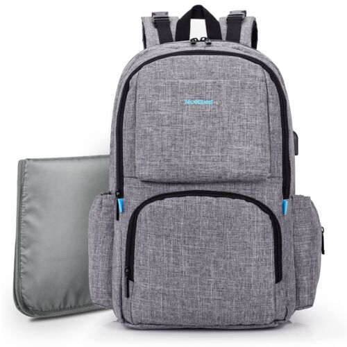2017 Hot  Multifunction Baby Diaper Nappy Backpack Changing Bag Mummy Mother Bag