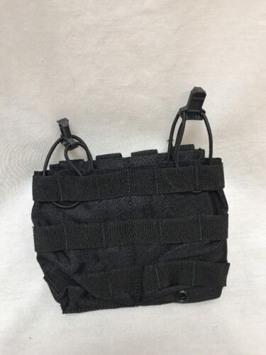 LBT-6146B Modular Double Carbine Speed Draw Pouch Black w/S&S pull LE DutyPouches - 158437