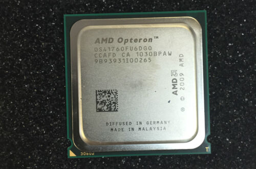 AMD Opteron 4176 Server CPU Lsbn 6 Core 2.4 GHz Socket 50W Hexacore Processor