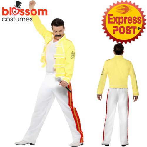 CA419 Queen Freddie Mercury Rock Superstar Pop Icon Superstar Celebrity Costume