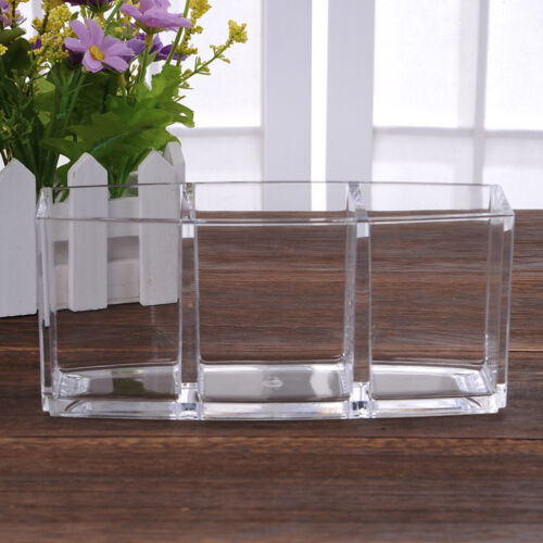 Beauty Acrylic Cosmetic Organizer Makeup Display Brush Holder Cup Lipstick Stand