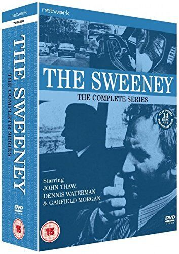 The Sweeney the complete Season 1, 2, 3 & 4 DVD Box Set