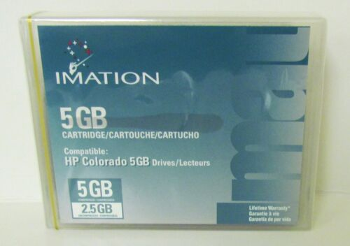 IMATION 2.5/5GB Cartridge for the HP Colorado 5GB Factory Sealed BRAND NEW