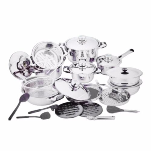 18/10 High Quality Heavy Stainless Steel Cookware 27-piece Set  <br/> Paypal Accepted✔Same Business Day*Dispatch✔Powerseller✔