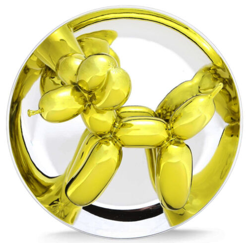 "JEFF KOONS ""BALLOON DOG (YELLOW)"" 2015 