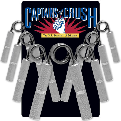 Captains of Crush Hand Grippers <br/> #1 Seller of Captains of Crush - Over 450,000 Feedbacks