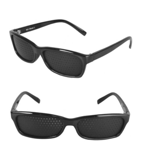 Natural Vision Therapy Eyewear Set of 2 Black <br/> Paypal Accepted✔Same Business Day*Dispatch✔Powerseller✔