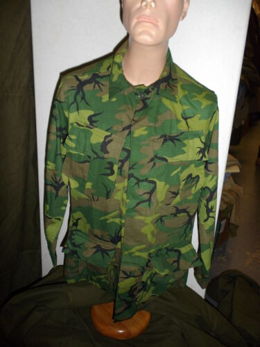 erdl(m)  Vietnam ERDL Camouflage Uniform Set medium 44J 36T W4DReproductions - 156445