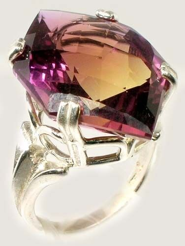 24ct Handcrafted Ametrine Ancient Persian Roman Greek Gem from India Camel Route