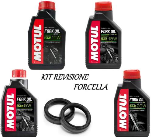 132 Motul kit olio + paraoli forcella Malaguti MADISON K 400-RESTYLING 2002-2004