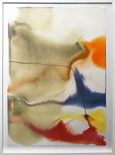 """PAUL JENKINS """"PHENOMENA GIVEN MERIDIAN"""" 1978 