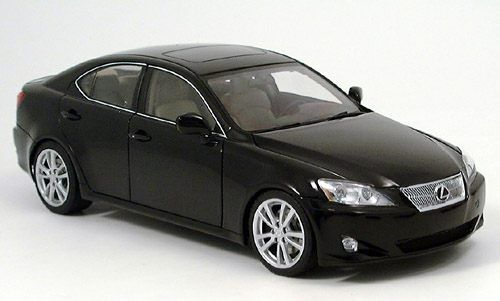 LEXUS IS 350 BLACK LHD 2006 AUTOART 78812 1/18 NOIR NEW 1:18 VOITURE DE LUXE USA