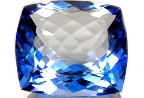 Blue Topaz 95ct Antique 19thC Gem of Ancient Greek Invisibility Enchant Bewitch