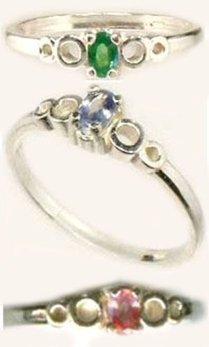 Ring Alexandrite Antique 19thC Russia Natural ¼ct Color-Change Genuine Handcut