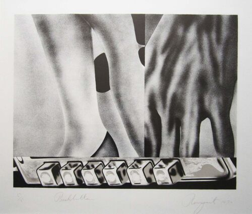 "JAMES ROSENQUIST Signed 1972 Original Lithograph - ""Pushbuttons"""