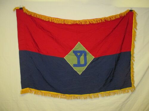 flag1115 US United States Army 26th Infantry Division Unit color 1980's W11EOriginal Period Items - 13983