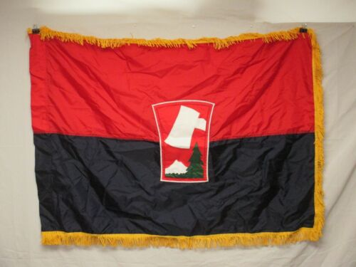 flag1121 US United States Army 70th Infantry Division Unit color 1990's W11EOriginal Period Items - 13983