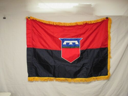 flag1122 US United States Army 76th Infantry Division Unit color 1990's W11EOriginal Period Items - 13983