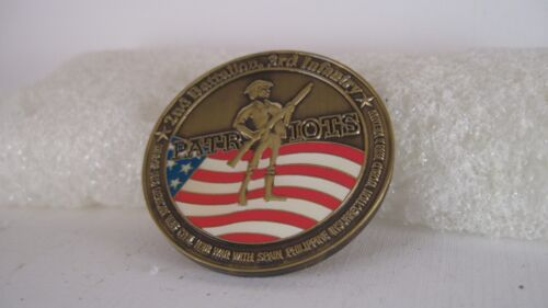 US Army  2 nd Bat  3 rd Infantry  challenge coinOther Militaria - 135