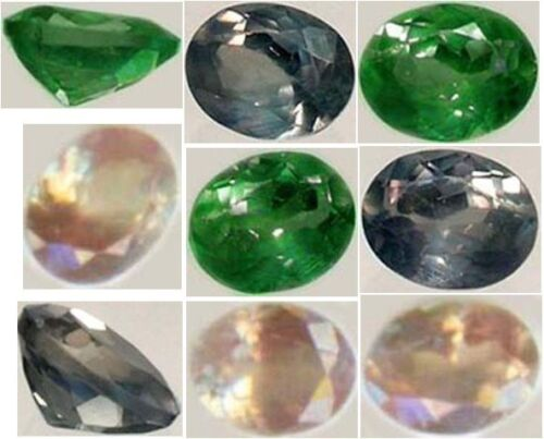 Alexandrite 1/3ct Antique 19thC Russian Natural Color-Change Genuine Handcrafted