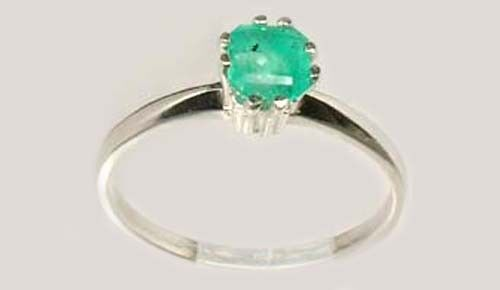 Emerald Ring ½ct+ Antique 19thC Colombia Ancient Rome General Lucullus Gem 100BC