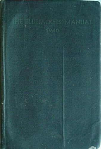 1940 NAVY BLUEJACKETS' MANUALPrice Guides & Publications - 171192