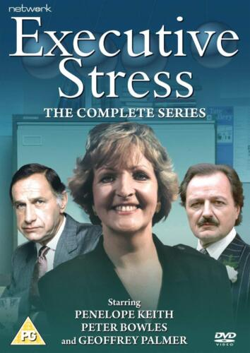 Executive Stress The Complete Season Series 1, 2 & 3 DVD New and sealed