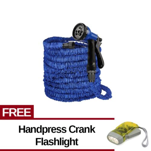 Expandable Flexible Garden Hose(up to 125 ft) Free Handpress Crank Flashlight <br/> Paypal Accepted✔Same Business Day*Dispatch✔Powerseller✔