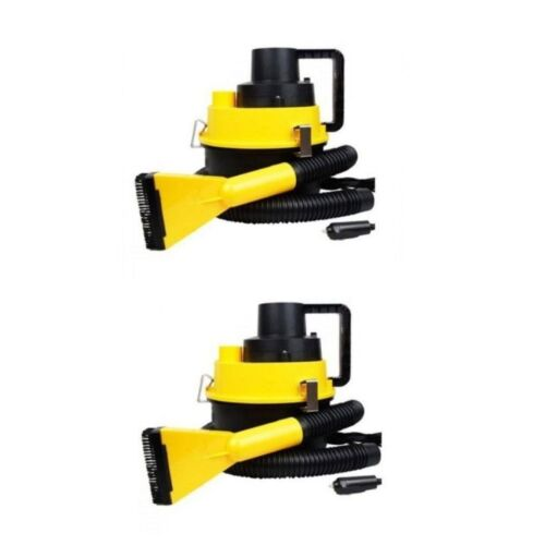 DC12V Monlove Wet and Dry Portable Car Vacuum Cleaner (Yellow) Set of 2 <br/> Paypal Accepted✔Same Business Day*Dispatch✔Powerseller✔