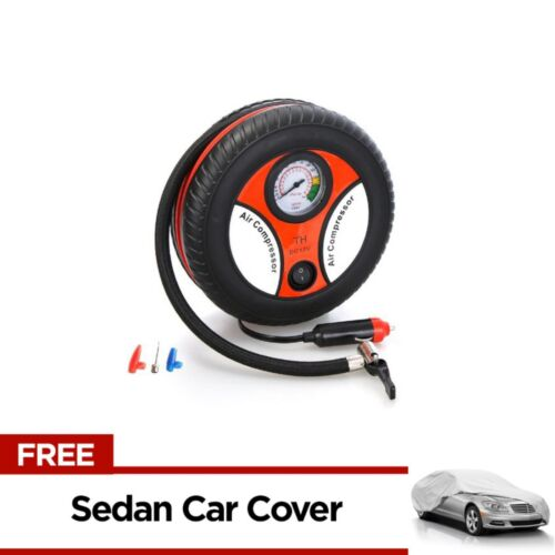 260PSI Auto Car Electric Tire Inflator with Sedan Car Cover <br/> Same Business Day* Dispatch✔ Powerseller✔