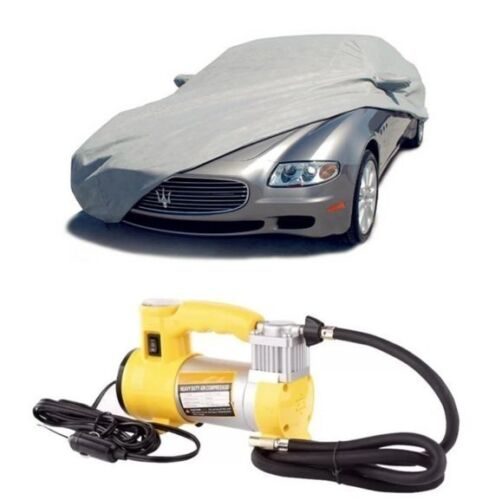 Waterproof Lightweight Nylon Car Cover Sedan with Heavy Duty Air Compressor <br/> Same Business Day* Dispatch✔ Powerseller✔