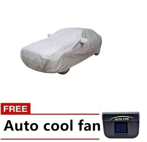 Waterproof Lightweight Nylon Car Cover Sedan with Auto Cool Solar Fan <br/> Same Business Day* Dispatch✔ Powerseller✔