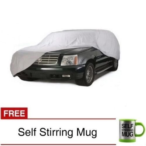 Waterproof Lightweight Nylon Car Cover for SUVs with Self Stirring Mug (Green) <br/> Same Business Day* Dispatch✔ Powerseller✔