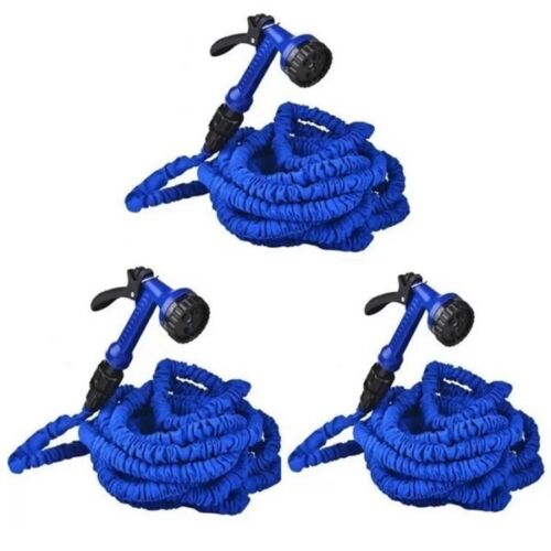 Expandable Flexible Garden Hose (up to 75ft) Set of 3 <br/> Paypal Accepted✔Same Business Day*Dispatch✔Powerseller✔
