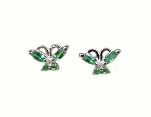 Alexandrite Earrings ½ct Antique 19thC Russia Natural Color-Change Genuine .925