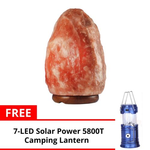Keimav Natural Shape Himalayan Salt Lamp Light Dimmer w/ Camping Lantern (Blue) <br/> Paypal Accepted✔Same Business Day*Dispatch✔Powerseller✔